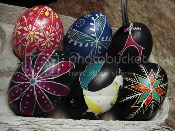 more pysanky from years past