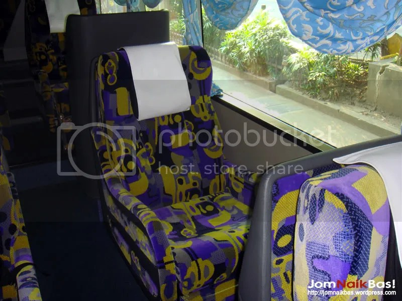 The single seat.