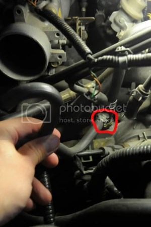00 Civic  Where does hose for FUEL INJECTION AIR (FIA