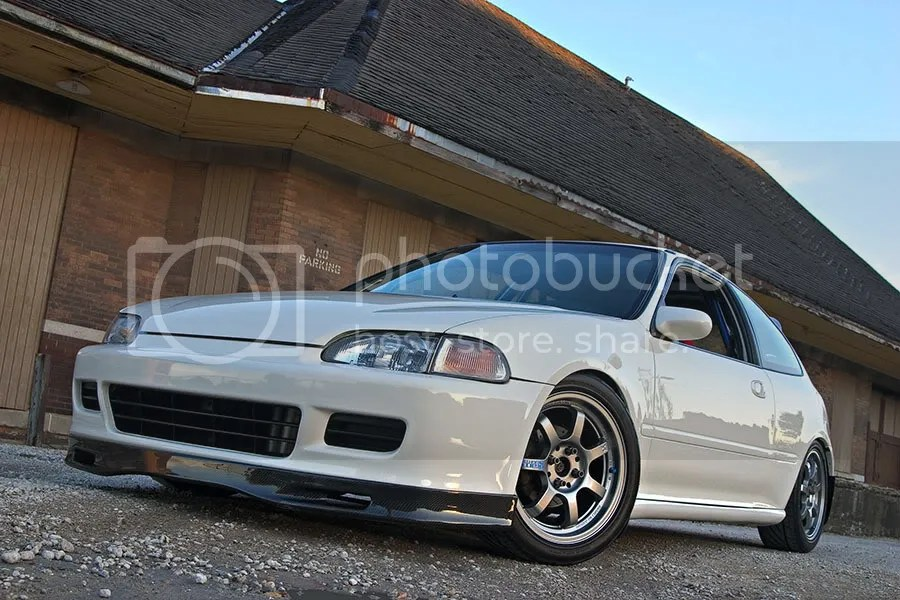 FS 1992 Honda Civic With GSR Swap Wire Tuck New Paint