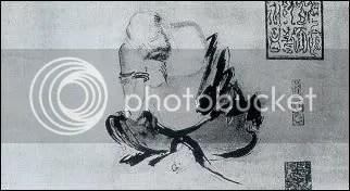 Thiền sư nhập định (tranh Thạch Khác, thế kỷ X)