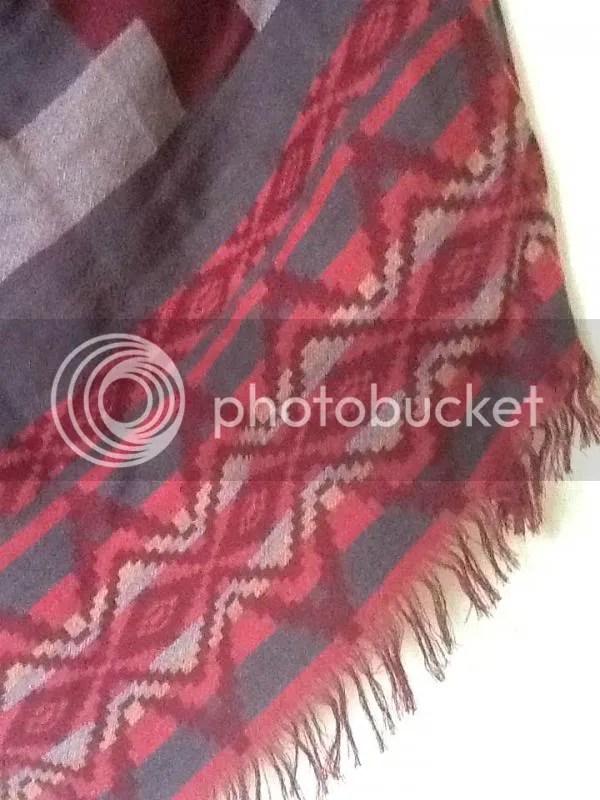 sjaal detail