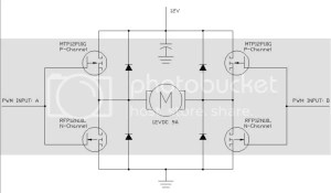 PWM HBridge circuit
