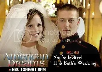 AMERICAN DREAMS NBC Tonight 8/7c