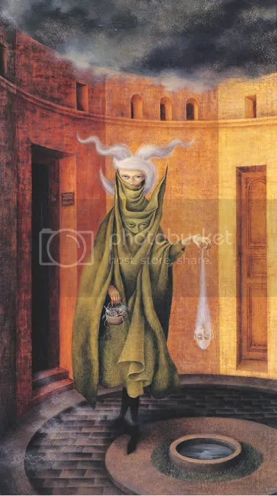 Remedios Varo Woman Leaving the Psychoanalyst's Office