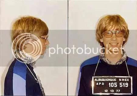 Celebrity Mug Shot