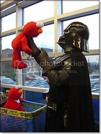 Tickle Me Darth?