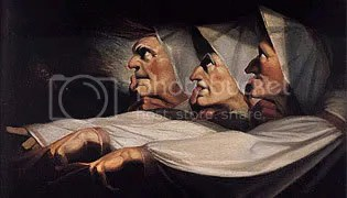Fuseli's Three Witches ALSO think this was a stupid quiz