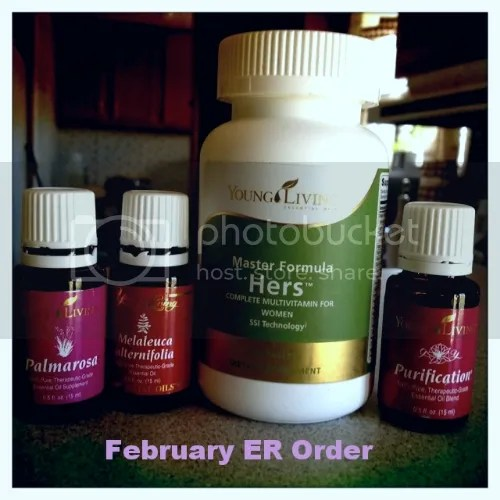 February Essential Rewards Order youngliving.org/cfamilyof6