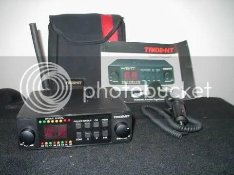 Trident Radar Detector