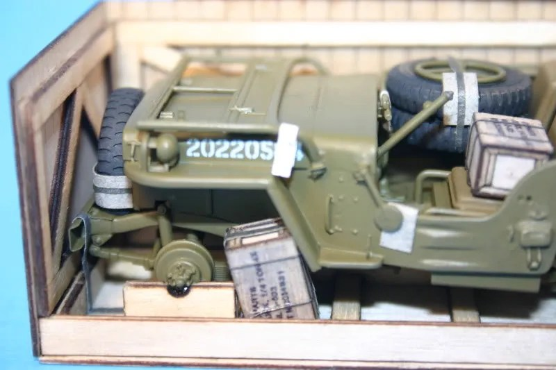 Photobucket -  HeavyArty's album / Willys MB Jeep in a Crate