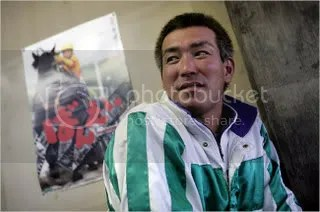 Kenji Abe, 39, a jockey, worried that draft-horse racing was losing its relevance on an island that was moving away from its settler roots.