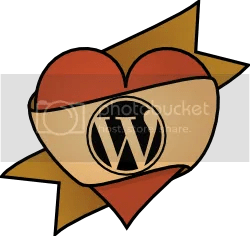 I <heart> WordPress