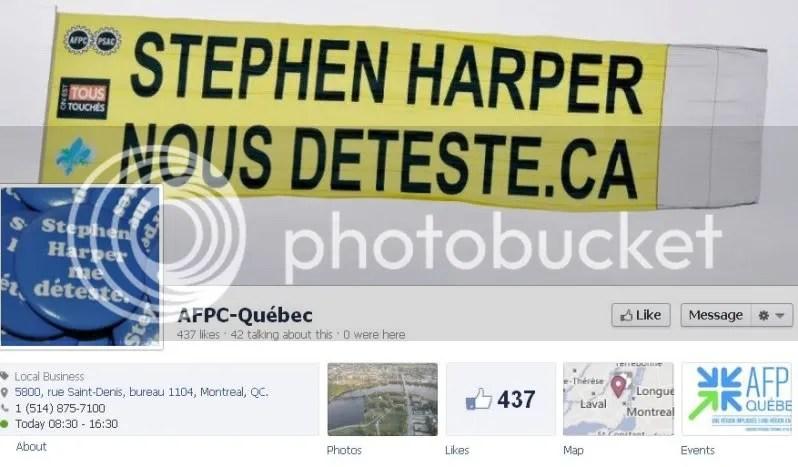 Stephen Harper Hates Me