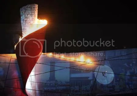 The Cauldron of Beijing Olympics 2008 (from a  beijing2008.cn)