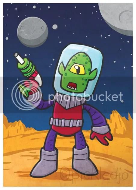 Biro Alien