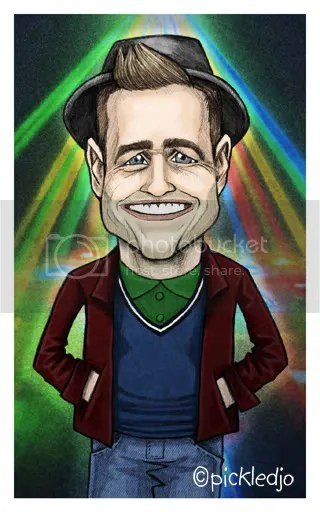 Olly Murs Caricature