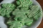 Clover Sugar Cookies with White Chocolate