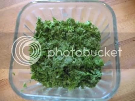 Greens-pulp