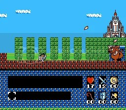 This is the NES version that got rid of the time limit.