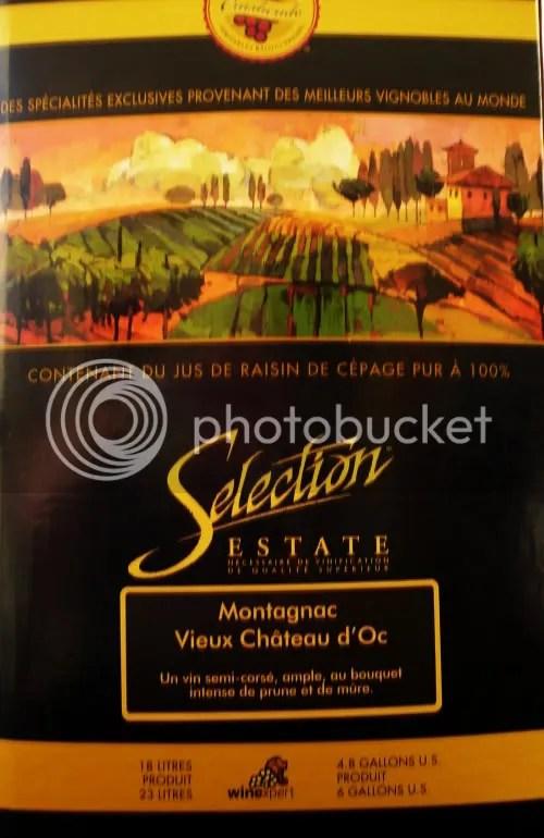 Wine kit box