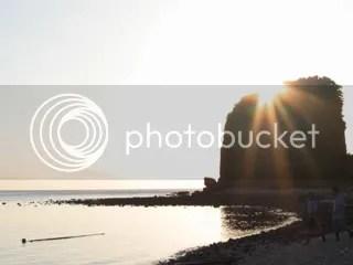 sunset at sepoc island