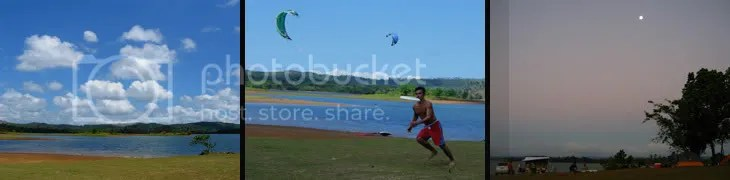frisbee and windsurfing at caliraya lake