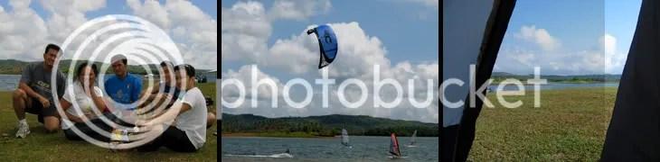 frisbee and windsurfing at caliraya lake