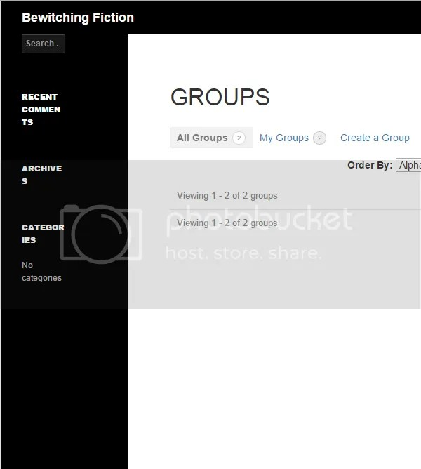 Topic: Hidden Groups and Forums not showing for members of