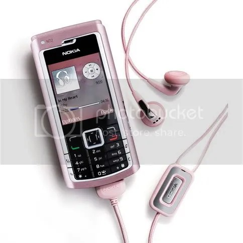nokia n72 pink limited edition