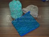Handspun and knitted articles