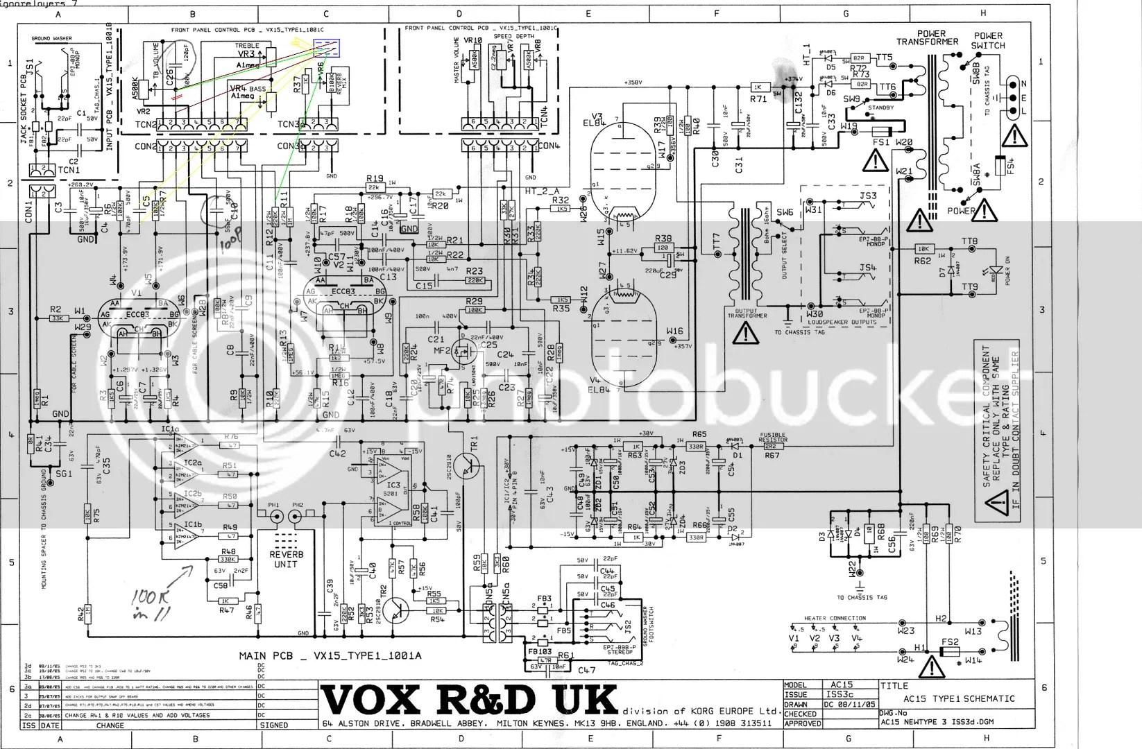 Reverb Circuit Removal