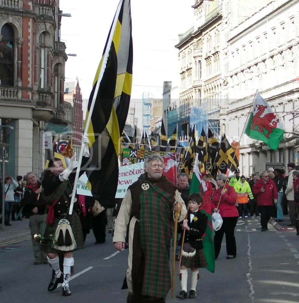 St Davids David Day Parade Cardiff 2010