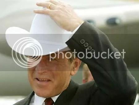 Bush's White Hat