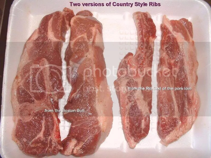 Quick Country Style Ribs