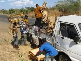 How many Malawians does it take to load a truck?