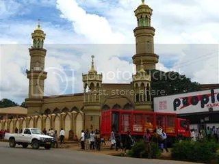 Mosque, Coca-Cola, just another day in Old Town Lilongwe
