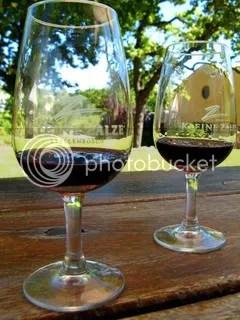 Artsy wine photo