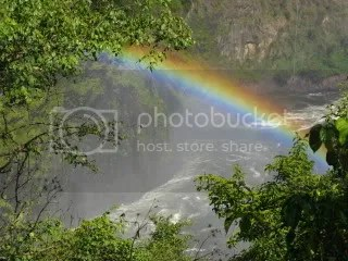 One of many Vic Falls rainbows