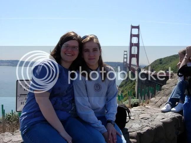 Jen & Cait in SF