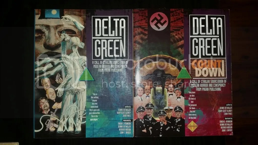 Delta Green Books - 15 years old apiece!