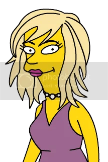 Me as a Simpson's character