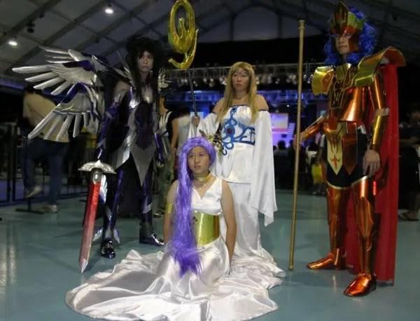 Team Saint Seiya Gods & Goddesses Photo By