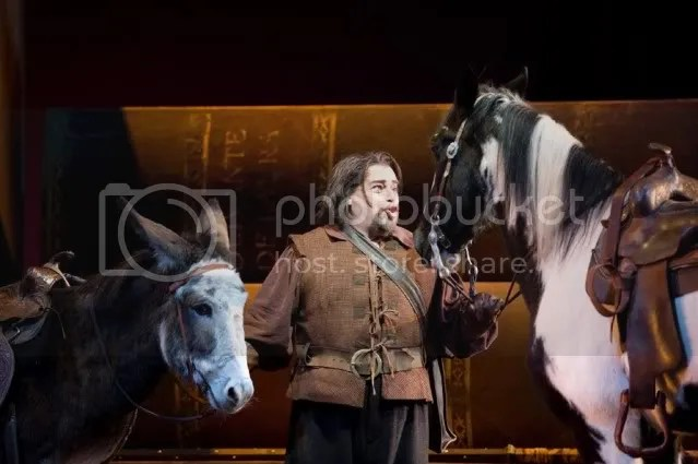 Millie the opera donkey and friends