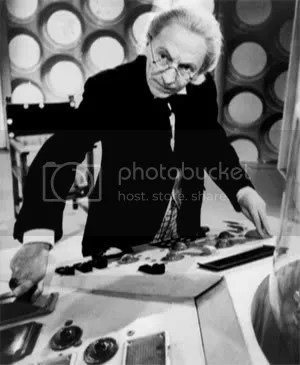 William Hartnell at the TARDIS