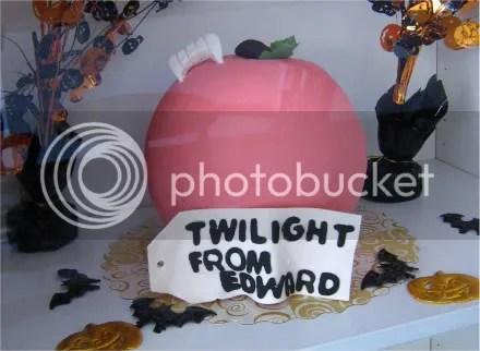 edward twlight cake