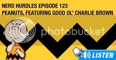 Listen to episode 123 - Charlie Brown