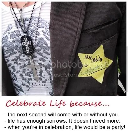 Why Celebrate Life?
