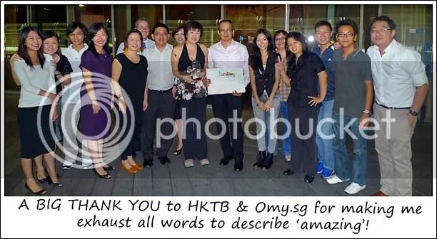 Bloggers + HKTB + Omy.sg