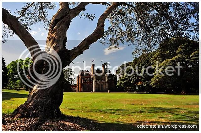 Sydney, Royal Botanic Gardens, Government House, Australia